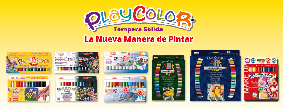 Tempera Solida Escolar
