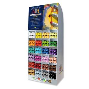 Expositor venta por colores