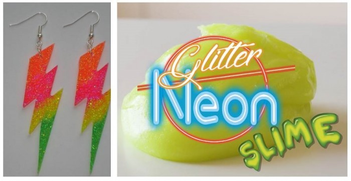 Add a Noen touch to your  handcraft with the NEON GLUE INSTANT