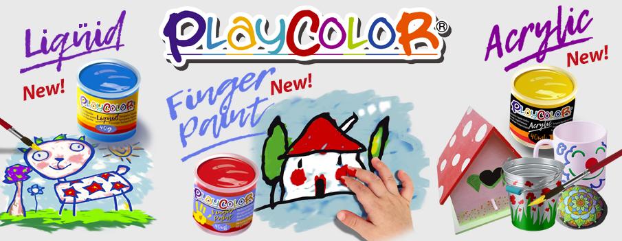 Pintura tempera escolar, pintura de dedos y pintura acrílica